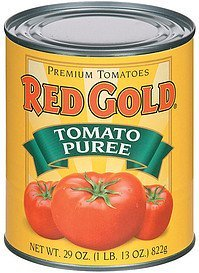 tomato puree Red Gold Nutrition info