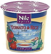 tomato & rice soup mix low fat Nile Spice Nutrition info