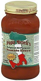 tomato sauce original, all purpose Papa Micielis Nutrition info