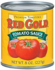 tomato sauce tomato Red Gold Nutrition info
