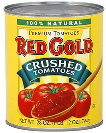 tomatoes crushed Red Gold Nutrition info