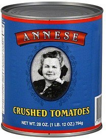 tomatoes crushed Annese Nutrition info