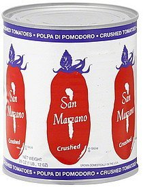 tomatoes crushed San Marzano Nutrition info