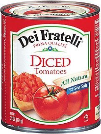 tomatoes diced Dei Fratelli Nutrition info