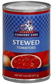 tomatoes stewed Midwest Country Fare Nutrition info
