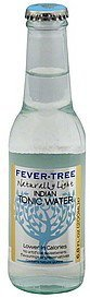 tonic water indian, naturally light Fever Tree Nutrition info