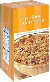 topping mix oatmeal spice crumble Barefoot Contessa Nutrition info
