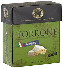 torrone best of italy European Voyage Collection Nutrition info