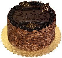 torte sacher, 6-inch House of Fine Chocolates Nutrition info