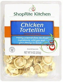 tortellini chicken ShopRite Kitchen Nutrition info