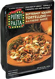 tortelloni butternut squash with alfredo sauce Putney Pasta Nutrition info