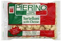 tortelloni with cheese Pierino Nutrition info