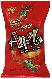 tortilla chips arriba nacho cheese Old Dutch Nutrition info