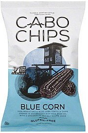tortilla chips blue corn Cabo Chips Nutrition info