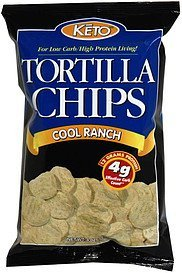 tortilla chips cool ranch KETO Nutrition info