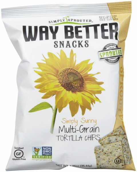 tortilla chips multigrain WAY BETTER SNACKS Nutrition info