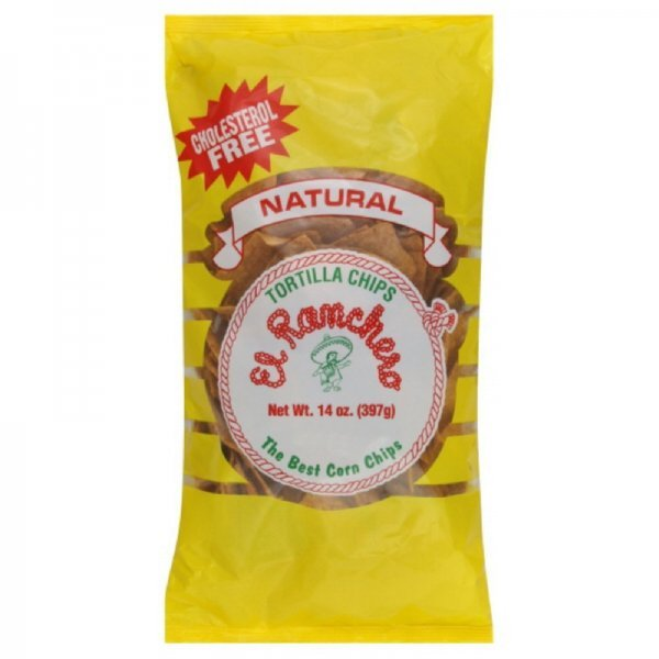 tortilla chips natural El Ranchero Nutrition info