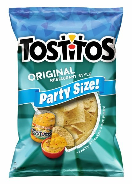 tortilla chips restaurant style, original Tostitos Nutrition info