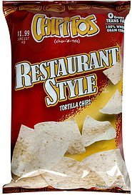 tortilla chips restaurant style Chipitos Nutrition info