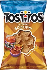 tortilla chips scoops! multigrain Tostitos Nutrition info