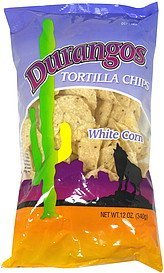 tortilla chips white corn Durangos Nutrition info
