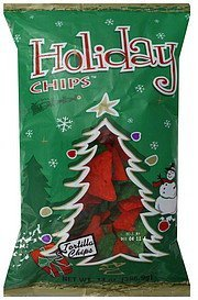 tortilla chips Holiday Chips Nutrition info