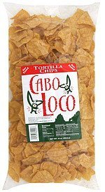 tortilla chips Cabo Loco Nutrition info