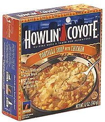 tortilla soup with chicken Howlin' Coyote Nutrition info