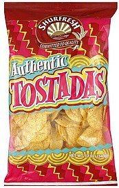 tostadas authentic Shurfresh Nutrition info