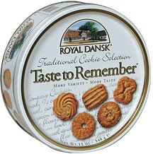 traditional cookie selection Royal Dansk Nutrition info
