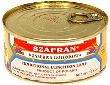 traditional luncheon loaf Szafran Nutrition info
