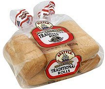 traditional rolls french Seattle International Nutrition info