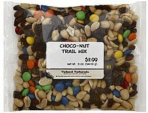 trail mix choco-nut Valued Naturals Nutrition info