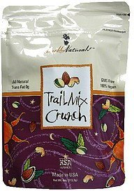 trail mix crunch Mareblu Naturals Nutrition info