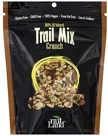 trail mix crunch Nut Land Nutrition info
