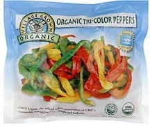 tri-color peppers Village Grown Organic Nutrition info