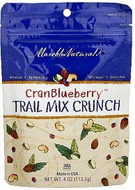 trial mix crunch cranblueberry Mareblu Naturals Nutrition info