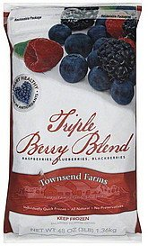triple berry blend Townsend Farms Nutrition info