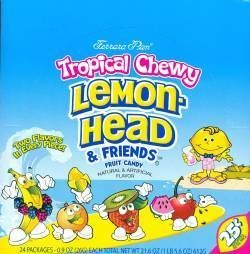 tropical chewy lemonhead friends Ferrara Pan Nutrition info
