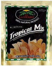 tropical mix De La Sierra Nutrition info