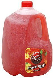 tropical punch drink Dairy Fresh Nutrition info
