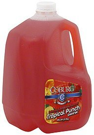 tropical punch drink Coburg Nutrition info