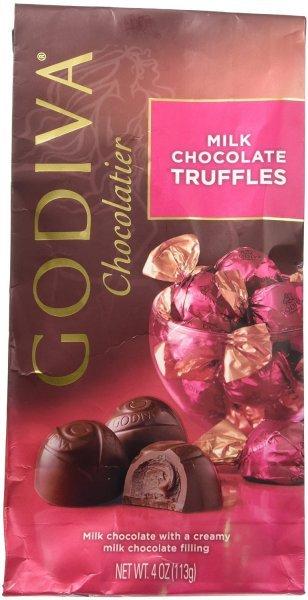 Godiva Milk Chocolate Bar Nutrition