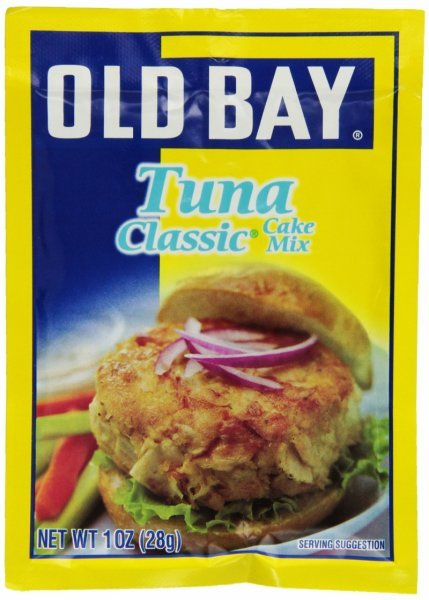 tuna classic the original tuna seasoning Old Bay Nutrition info