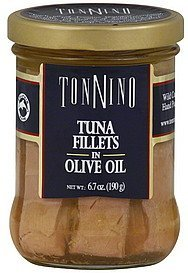 tuna fillets in olive oil TONNINO Nutrition info