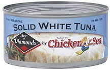 tuna solid white, fancy albacore, in water Ace of Diamonds Nutrition info