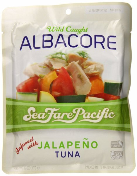 tuna wild caught albacore, jalapeno Sea Fare Pacific Nutrition info