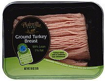 turkey breast, ground Plainville Farms Nutrition info