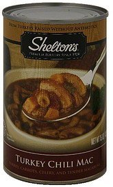 turkey chili mac Sheltons Nutrition info