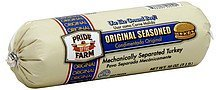 turkey mechanically separated, original seasoned Pride Of The Farm Nutrition info